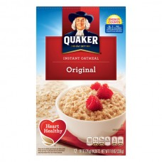 Quaker Instant Oatmeal Original - 12 ct