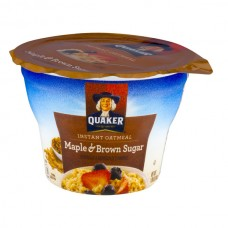 Quaker Instant Oatmeal Cup Maple & Brown Sugar