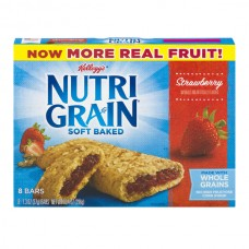 Kellogg's Nutri-Grain Soft Baked Breakfast Bars Strawberry - 8 ct