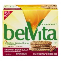 Nabisco belVita Breakfast Biscuits Cinnamon Brown Sugar - 5 ct