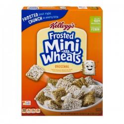 Kellogg's Original Mini Wheats Cereal Frosted Bite Size