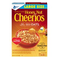 General Mills Honey Nut Cheerios Cereal Gluten Free