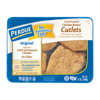 Perdue Breaded Chicken Breast Cutlets Original Fully Cooked - 4 ct