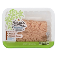 Nature's Promise Free from Ground Chicken Breast 98% Fat Free Fresh