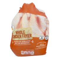 Stop & Shop Chicken Whole Fryer All Natural Fresh