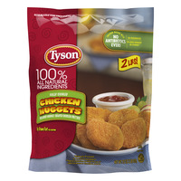 Tyson Breaded Chicken Nuggets Fully Cooked All Natural Frozen