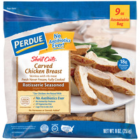 Perdue Short Cuts Carved Chicken Breast Rotisserie Seasoned Fresh
