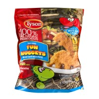 Tyson Breaded Chicken Nuggets Fun Fully Cooked All Natural Frozen