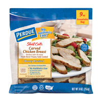 Perdue Short Cuts Carved Chicken Breast Honey Roasted Fresh Gluten Free