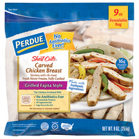 Perdue Short Cuts Carved Chicken Breast Grilled Fajita Style Gluten Free
