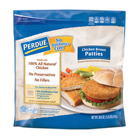 Perdue Breaded Chicken Breast Patties All White Meat - 10 ct Frozen