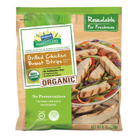 Perdue Harvestland Chicken Breast Strips Grilled Organic