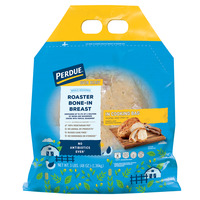Perdue Oven Ready Chicken Breast Whole Seasoned Bone-In Roaster Fresh
