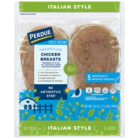 Perdue Perfect Portions Chicken Breasts Boneless Skinless Italian - 5 ct
