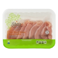 Nature's Promise Free from Turkey Breast Cutlets Thin Sliced Fresh