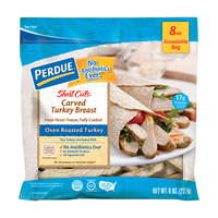 Perdue Short Cuts Carved Turkey Breast Oven Roasted Fresh Gluten Free