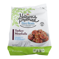 Nature's Promise Free from Meatballs Turkey Frozen