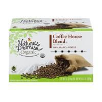 Nature's Promise Organic Coffe House Blend Dark Roast Coffee K-Cups