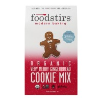 Foodstirs Modern Baking Cookie Mix Very Merry Gingerbread Organic