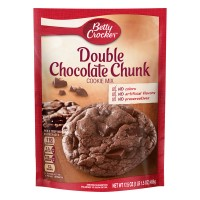 Betty Crocker Cookie Mix Double Chocolate Chunk