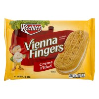 Keebler Vienna Fingers Sandwich Cookies Creme Filled