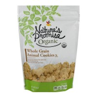 Nature's Promise Organic Animal Cookies Whole Grain