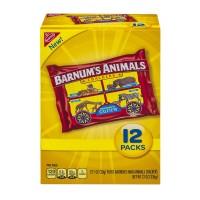 Nabisco Barnum's Animal Crackers Snack Packs - 12 pk