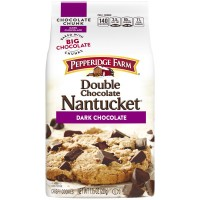 Pepperidge Farm Cookies Double Chocolate Chunk Nantucket Dark