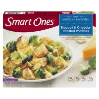 Smart Ones Tasty American Favorites Broccoli & Cheddar Roasted Potatoes