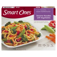 Smart Ones Flavorful Asian Inspirations Sesame Noodles with Vegetables