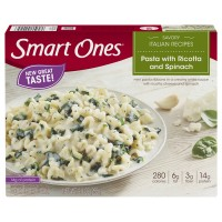 Smart Ones Savory Italian Recipes Pasta with Ricotta and Spinach