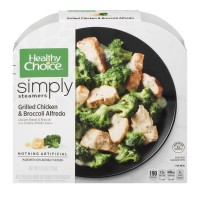 Healthy Choice Simply Steamers Grilled Chicken & Broccoli Alfredo