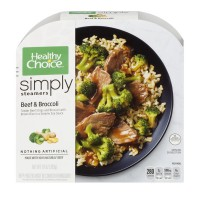 Healthy Choice Cafe Steamers Simply Beef & Broccoli