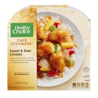 Healthy Choice Cafe Steamers Sweet & Sour Chicken