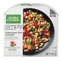 Healthy Choice Simply Cafe Mediterranean-Style Lentil Bowl