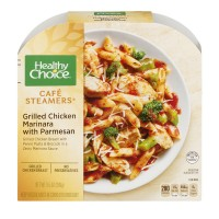Healthy Choice Cafe Steamers Grilled Chicken Marinara with Parmesan