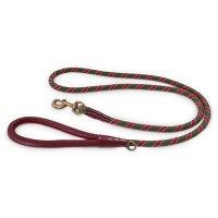 Reddy Olive Rope Dog Leash, 6Ft