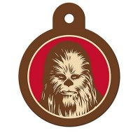 STAR WARS Chewbacca Engravable Pet I.D. Tag