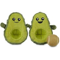 Leaps & Bounds Play Plush Avocado Dog Toy