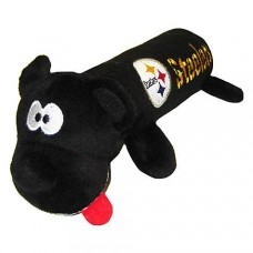 Pets First Pittsburgh Steelers Tube Toy For Dogs, 11""