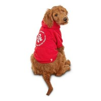 Reddy Love Is A Four-Legged Word Dog Hoodie, X-Small