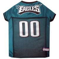Pets First Philadelphia Eagles NFL Mesh Pet Jersey, X-Small