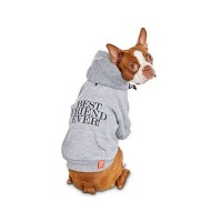 Reddy Best Friend Ever Dog Hoodie, X-Small