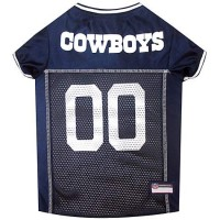 Pets First Dallas Cowboys NFL Mesh Pet Jersey, X-Small
