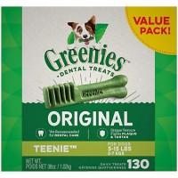 Greenies Original Teenie Dental Dog Treats, 36 oz., Count of 130