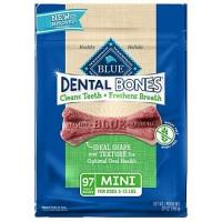 Blue Buffalo Blue Dental Bones Mini Size Dog Treats, 27 oz.