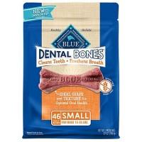 Blue Buffalo Blue Dental Bones Small Size Dog Treats, 27 oz.