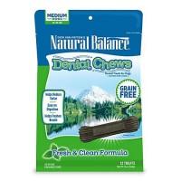 Natural Balance Fresh & Clean Medium Dog Dental Chews, 13 oz.