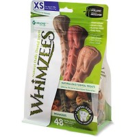 Whimzees X-Small Brushzees Dog Treats, 48 Pieces