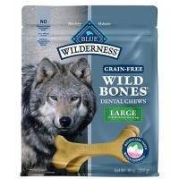 Blue Buffalo Blue Wilderness Wild Bones Dog Chews, 10 oz.